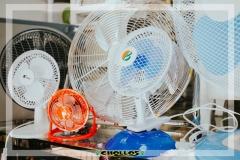 colección de ventiladores en Chollos Los Patitos